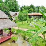 View from Shangri-Lao tree house